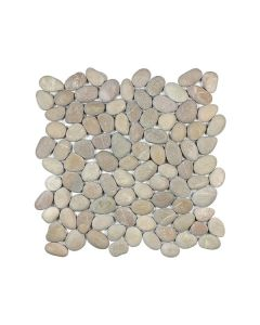 Bali Driftwood Tan Tumbled Pebble