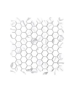 Mayfair Statuario Venato 1.25x1.25 Hexagon Polished