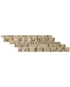 Travertine Ledgestone Mocha Splitface 7x28