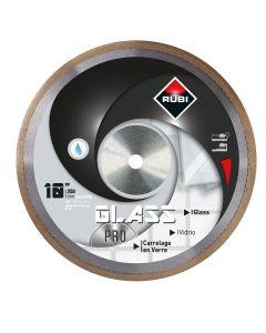 "Rubi 10"" Glass Pro Wet Cut Diamond Blade"