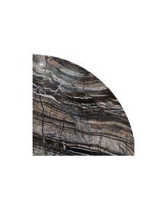 Ancient Woodgrain Corner Shelf 10 inch