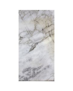 Bianco Cascia 12x24 Polished - Stained