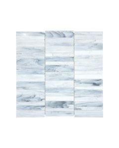 Cathedral Carrara Stacked Brick Glossy