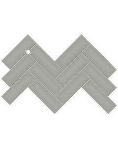 Soho Cement Chic 2x6 Herringbone Glossy