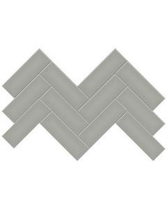 Soho Cement Chic 2x6 Herringbone Matte