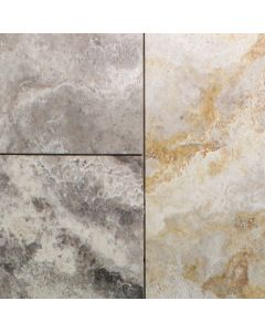Volcano 12x36 Honed Travertine