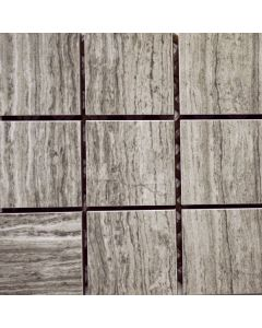 Marble Imi Grey Veincut 2x2 Polished - Final Sale