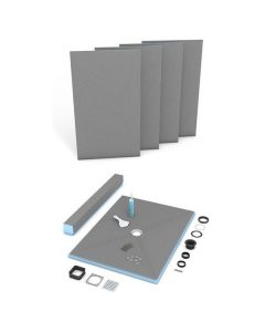 Wedi Fundo Primo 3'x5' Kit Centre Drain