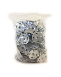 Wedi Metal Washer with tabs Box 1 1/4""
