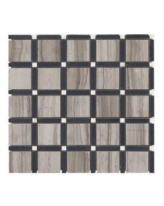 Jeffrey Court* Sleek Pattern Mosaic Pattern A 12x12
