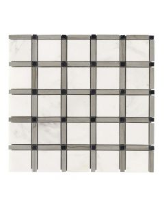 Jeffrey Court* Sleek Pattern Mosaic Pattern B 12x12