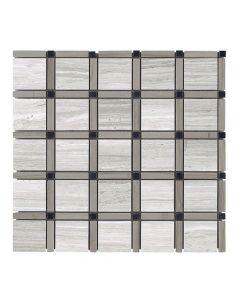 Jeffrey Court* Sleek Pattern Mosaic Pattern C 12x12