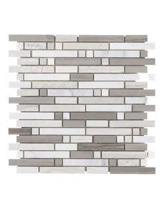 Jeffrey Court* Modish Pattern Mosaic Pattern A 12x12