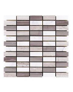 Jeffrey Court* Modernique Pattern Mosaic Pattern B 12x12