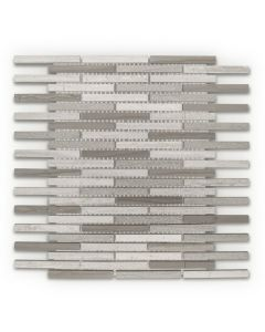 Jeffrey Court* Lustrous Pattern Mosaic Pattern A 10.75x11.875