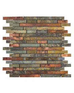 Jeffrey Court* Copper Mine Slate 11.625x11.875
