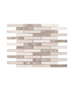 Jeffrey Court* Blended Mosaics Merge 12.75x15.25