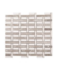 Jeffrey Court* Blended Mosaics Woven 11.75x10.875