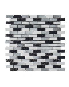 Ashland and Halsted Galvanized* Mini Brick Glossy