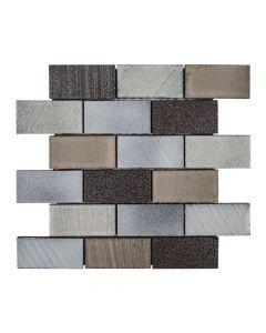Jeffrey Court* 2x4 Brick Reclaimed 12x12.375