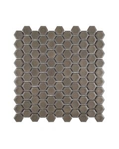 """Ashland and Halsted Distressed* 1"""" Hexagon Honed"""