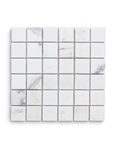 "Jeffrey Court* 2"" Square Mosaic Statuario 12x12"