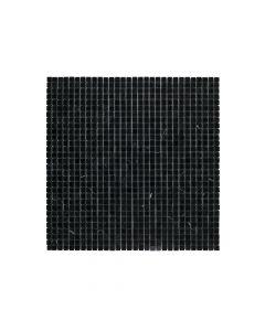 "Jeffrey Court* 3/8"" Composition Mosaic - Nero Marquina"