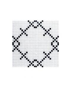 Jeffrey Court* Augusta Mosaic - Nero Marquina