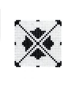 Jeffrey Court* Montpelier Mosaic - Nero Marquina