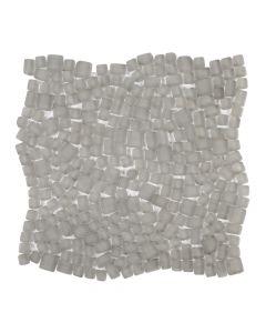 Reef Glass Coconut* Pebble Mosaic Matte