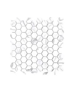 Mayfair Statuario Venato1.25x1.25 Hexagon Polishe
