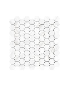 Mayfair Volakas Grigio 1.25x1.25 Hexagon Polished