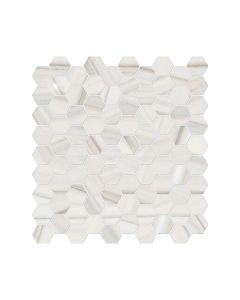 Mayfair* Zebrino 1.25x1.25 Hexagon Polished