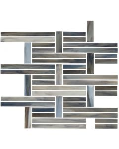 Cubist Clay* Perpendicular Mosaic Glossy