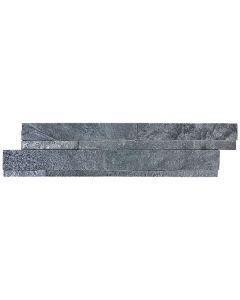 Quartzite Ledgestone Astro Silver Splitface 6x24