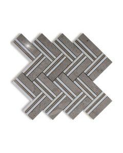 Quilt Mohegan Grey Polished