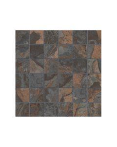 """Kayah Rust* Porcelain Mosaics 2""""x2"""""""