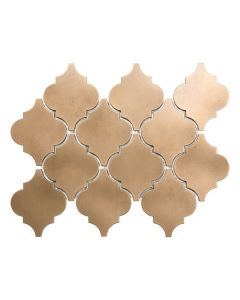 Satin Metal Bronze* Arabesque Mosaic