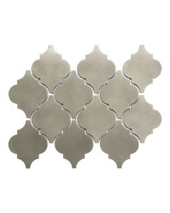 Satin Metal Nickel* Arabesque Mosaics