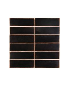 Satin Metal Oil Rubbed Bronze* 2x6 Stacked Mosaic