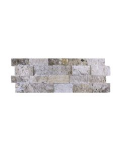 Travertine Ledgestone Silver Splitface 7x20