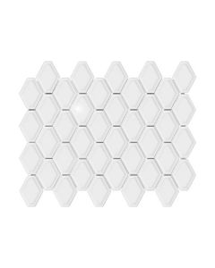 Soho White Convex Loft Glossy