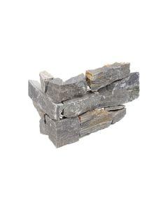 Stacked Stone Ocean Quartzite Splitface Corner