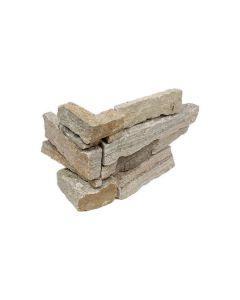 Stacked Stone Umber Quartzite Splitface Corner