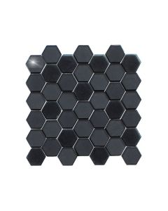 Stardust Black Hexagon