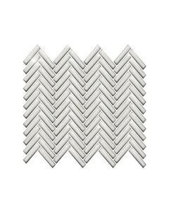 Color Collection Antique White Bright Herringbone