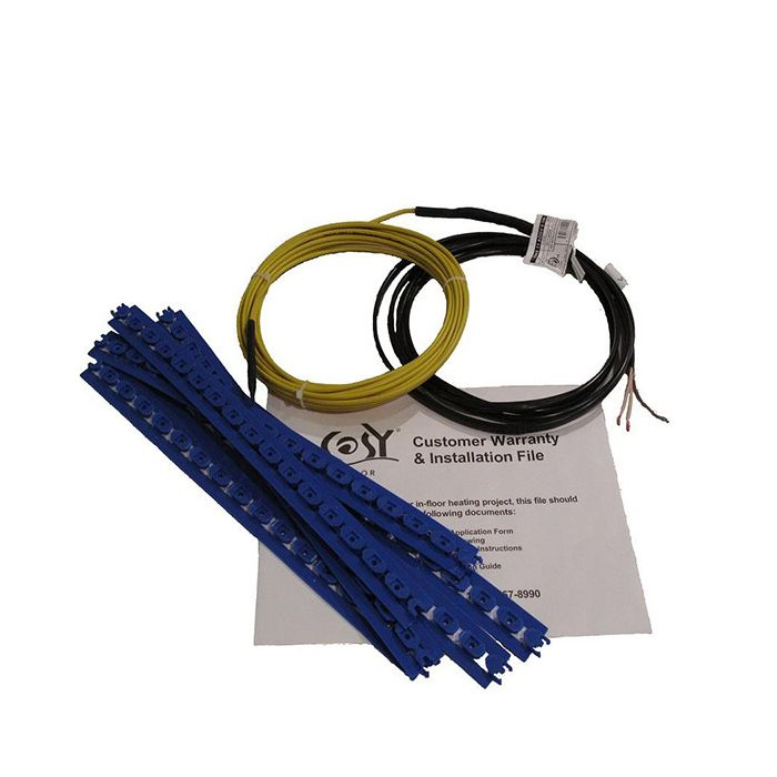 Cable Heating 220v 180 Sqft