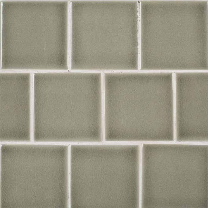 Atlas Spanish Moss 4x4 Ceramic Tile Glossy