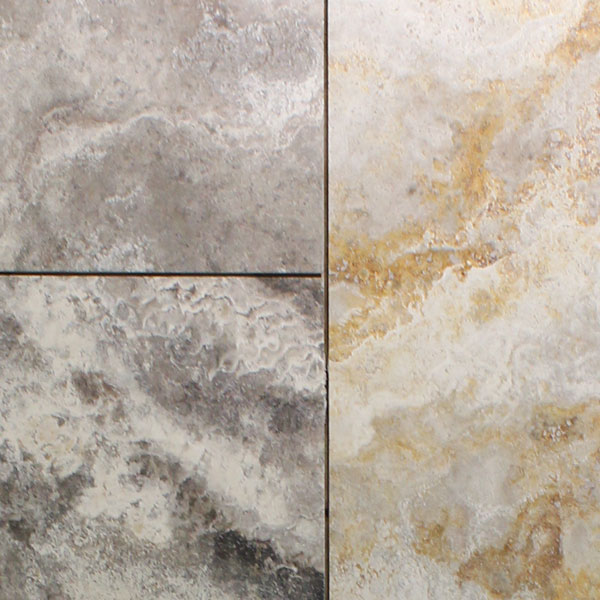 Volcano Honed Travertine Tile