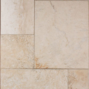 Baja White Straight Edge Cobblestone Tile
